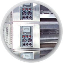 Electric multi deck oven