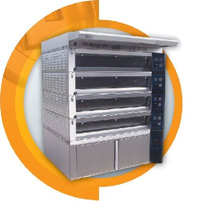 Electrical multi deck oven