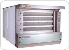 Multi deck bakery oven